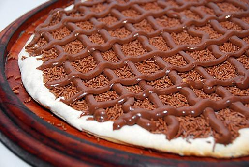 RECHEIO PARA PIZZA DE CHOCOLATE - SUISSE CHOCOLATE