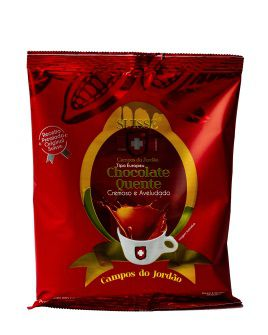SUISSE CHOCOLAT QUENTE - TIPO EUROPEU - KIT COM 5 UN 200 GR CADA