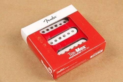 Captador Set Fender Tex-Mex Stratocaster Branco