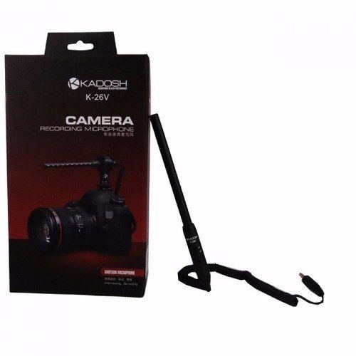 Microfone Kadosh K-26v Para Câmera