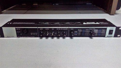 Reverb De Rack Zoom RFX 1100 Multi Efeitos Para Mic