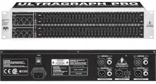 Equalizador Behringer Ultragraph PRO FBQ 3102