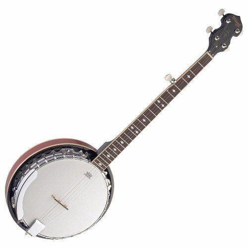 Banjo Americano Stagg Deluxe Mahogany BJM30 DL 5 Cordas