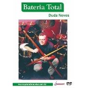 Dvd Video Aula Bateria Total Duda Neves