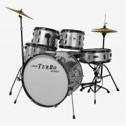 BATERIA TURBO SP-525 MAG PRATA