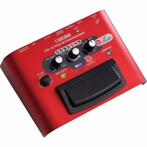 Pedal De Voz Boss VE-2 Vocal Harmonist