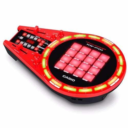 Controlador Dj Casio Trackformer XW-PD1