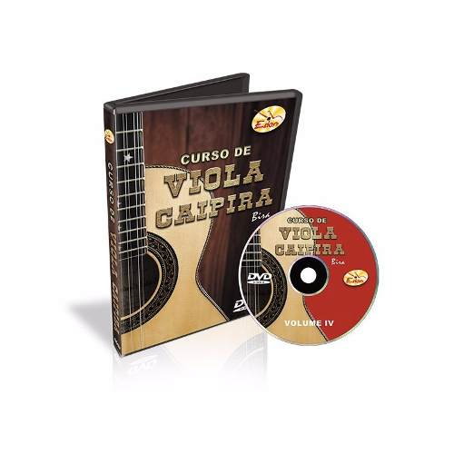 Dvd Video Aula Curso De Viola Caipira Vol 4 Bira