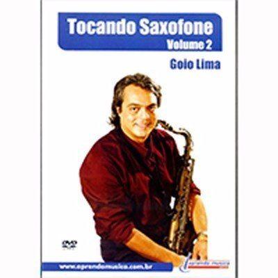 Dvd Vídeo Aula Tocando Saxofone Vol 2 Goio Lima