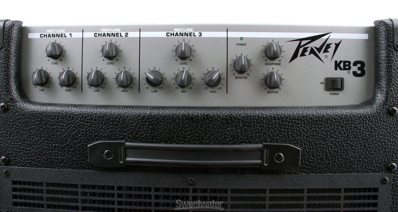Amplicador Combo Peavey KB-3 Para Teclado 60W RMS 220V