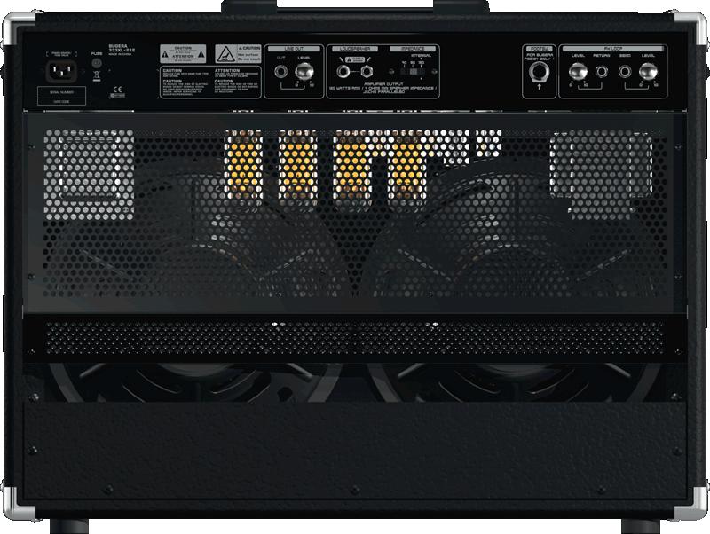 Amplificador Combo Bugera 333 212 120W RMS Valvulado