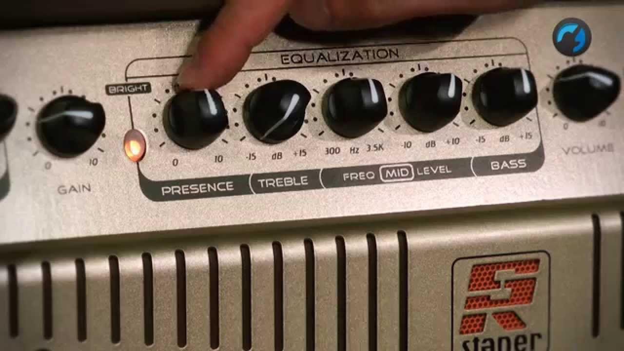 Amplificador Combo Staner A-240 Para Violão 100W RMS
