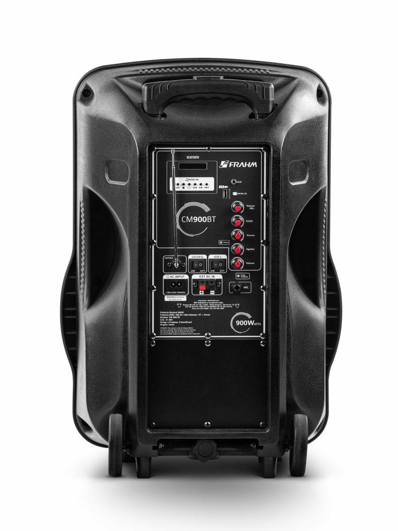 Caixa Frahm CM 900 BT Multiuso 300W RMS