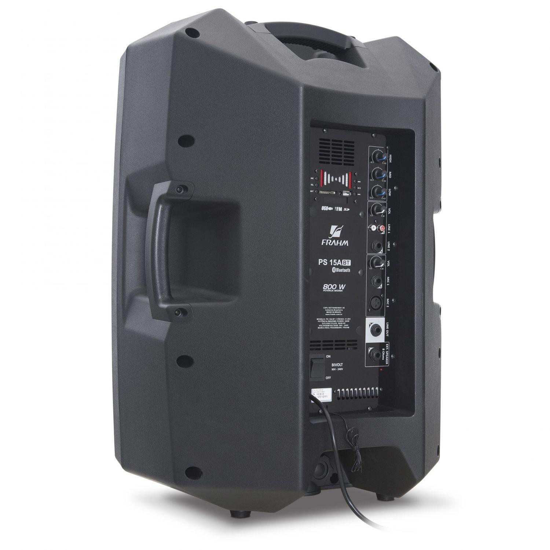 Caixa Frahm PS 15 APP 300W RMS Ativa FM SD USB Bluetooth