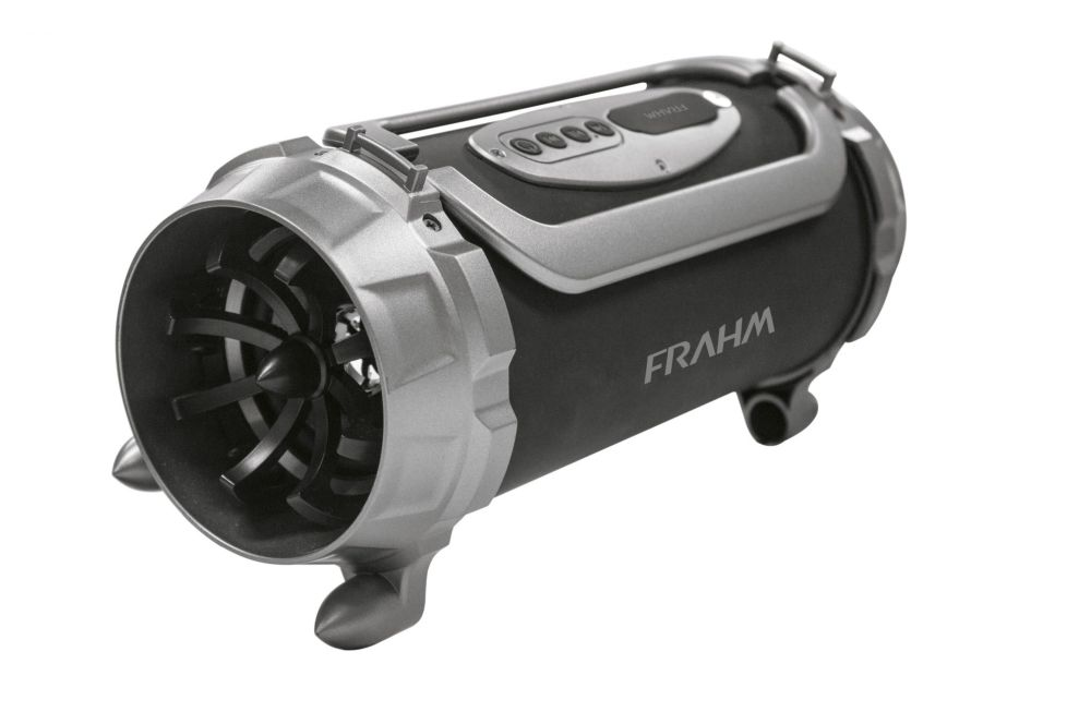 Caixa Portátil Frahm BK 640 BT FM 20W RMS Com Bateria