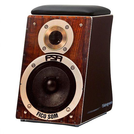 Cajon FSA Desing Series FC 6619 Speaker Elétrico Captação Dupla