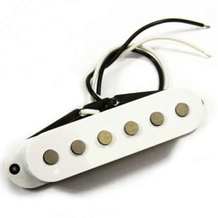 Captador De Guitarra Santo Angelo Texas S Single Coil - Bridge - Branco
