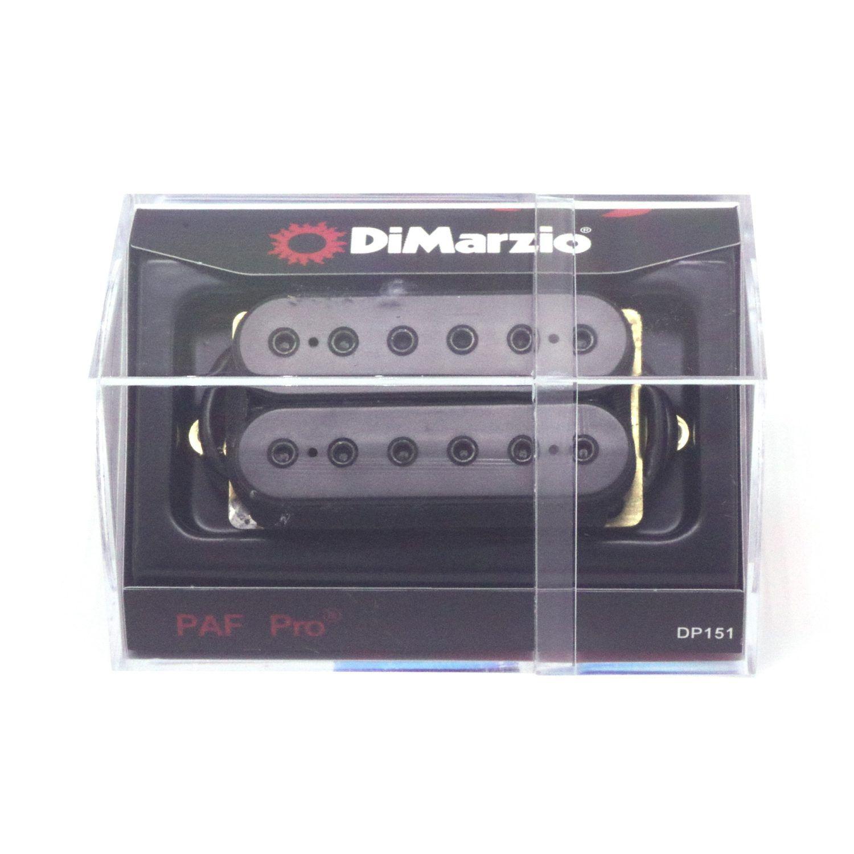 Captador Guitarra Dimarzio DP 151 BK Paf pro - Black