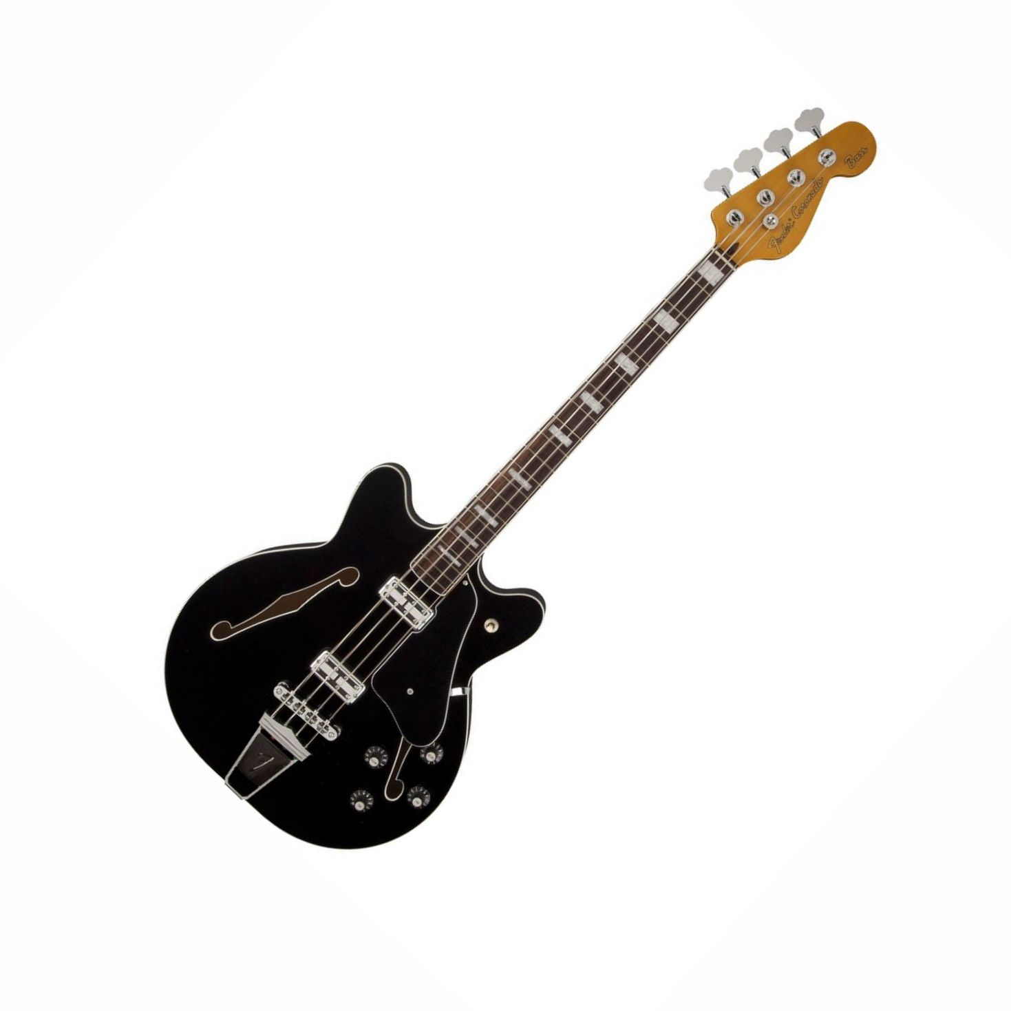 Contrabaixo Fender Coronado SEMI ACUSTICO  ( BK)