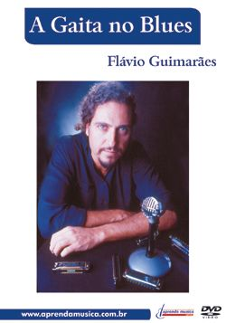 Dvd Vídeo Aula A Gaita No Blues Flávio Guimarães