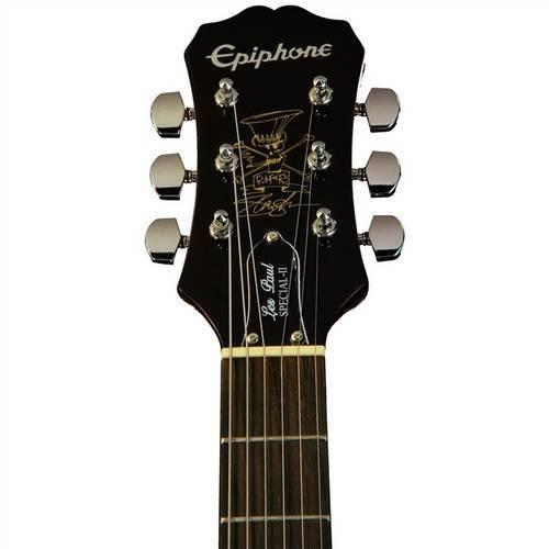 GUITARRA EPIPHONE LP SPECIAL SLASH AFD SIGNATURE AMBER