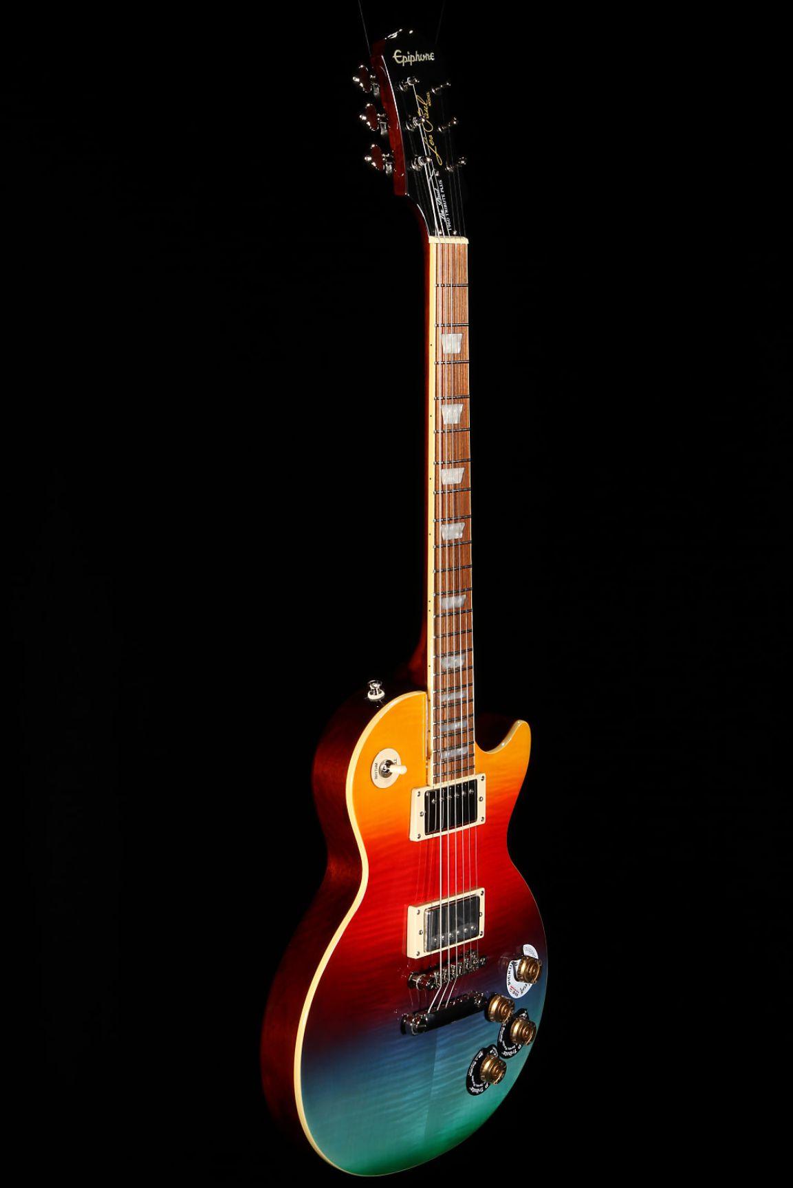 Guitarra Epiphone Lp Tribute Prizm Outfit Ltd Ed - Captadores Gibson Classic 57