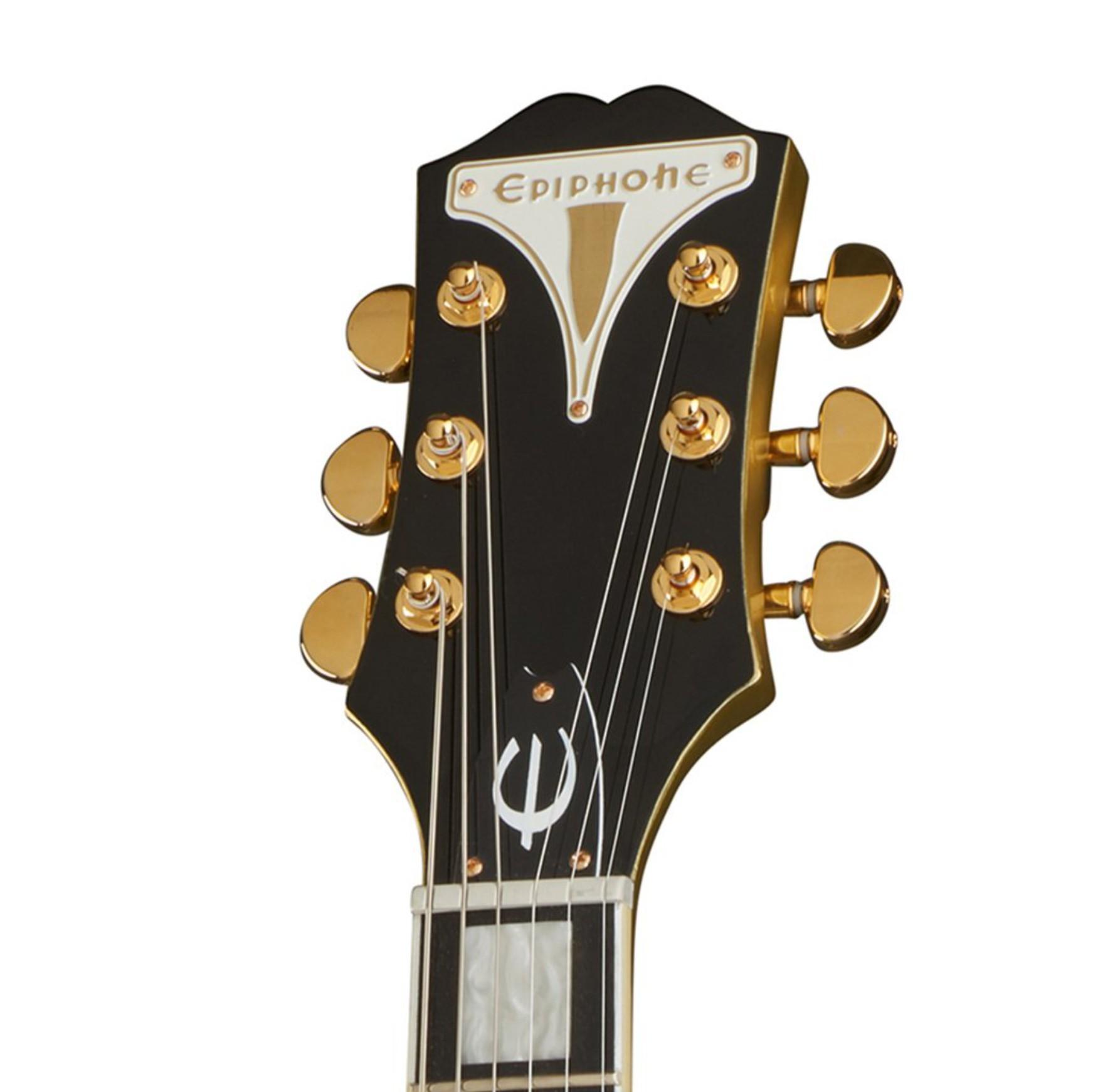 Guitarra epiphone uptown kat es emerald green metallic