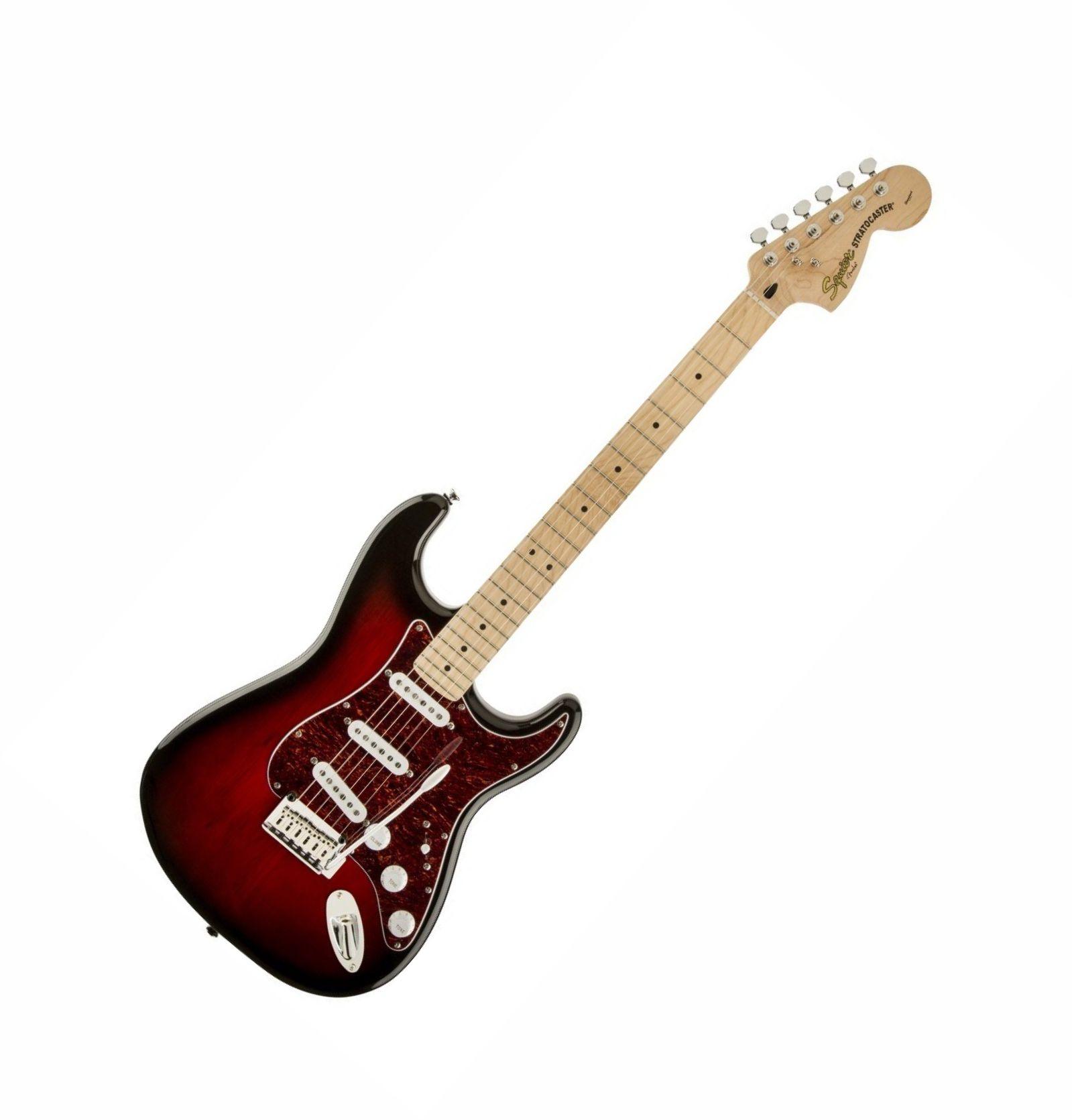 Guitarra Fender Squier Standard Stratocaster Antique Burst