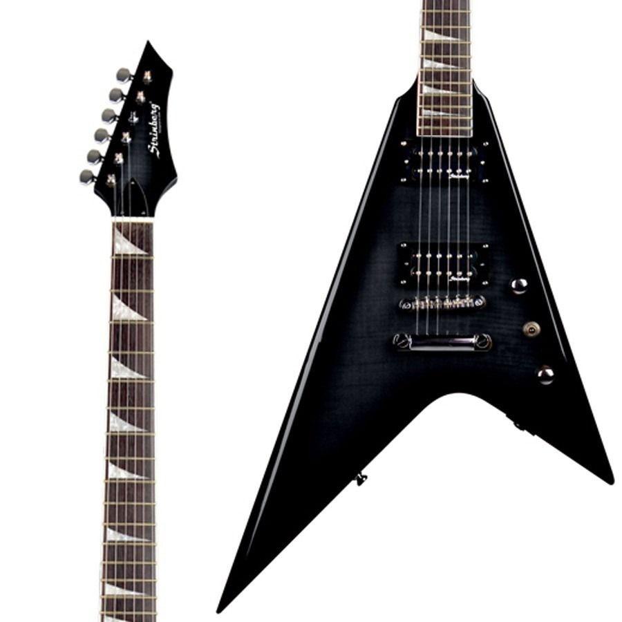 Guitarra Flying V Strinberg Clg45 Tbk Preto