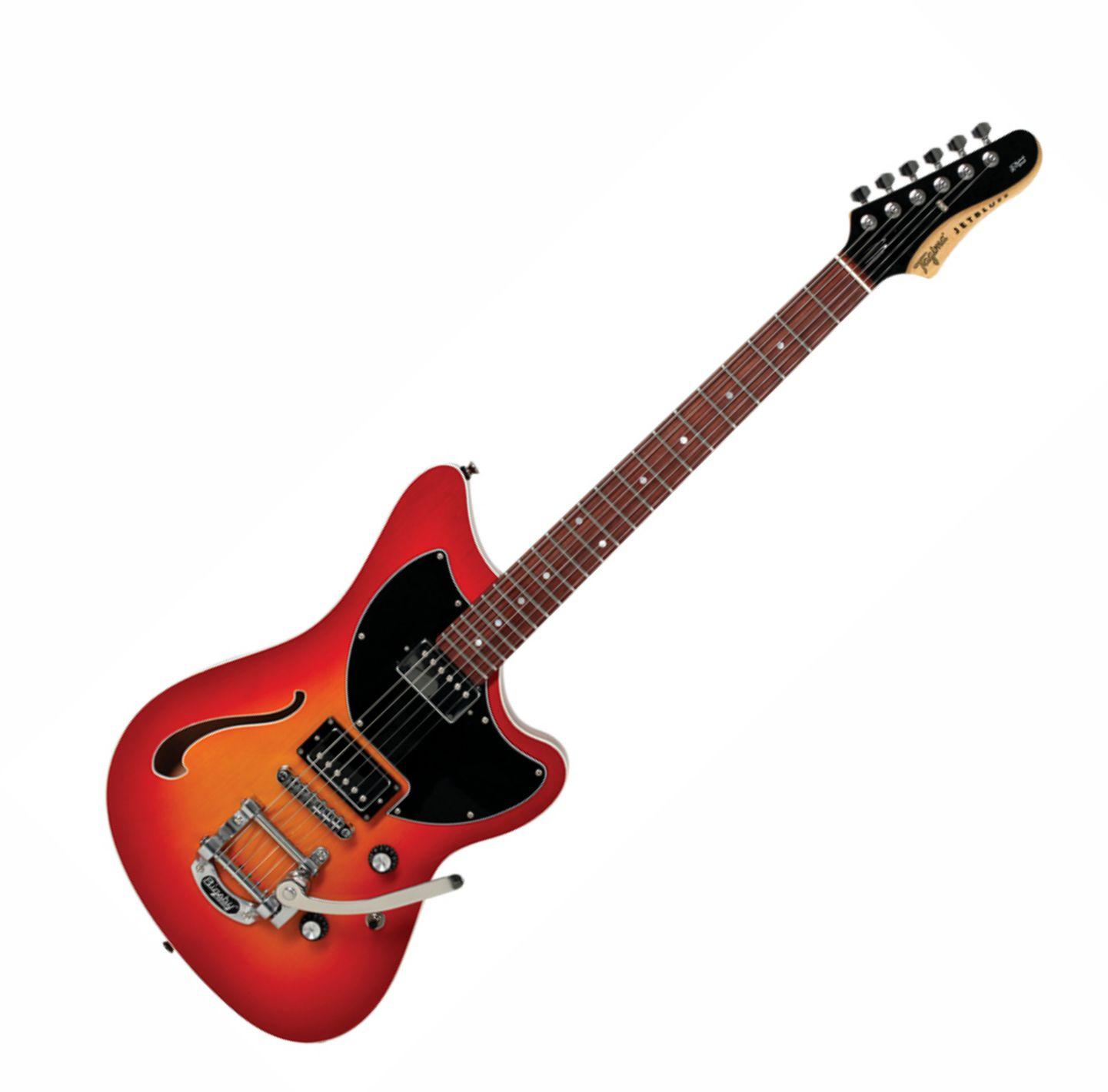 Guitarra Tagima Jet Blues Deluxe Handmade Brasil C/bigsby