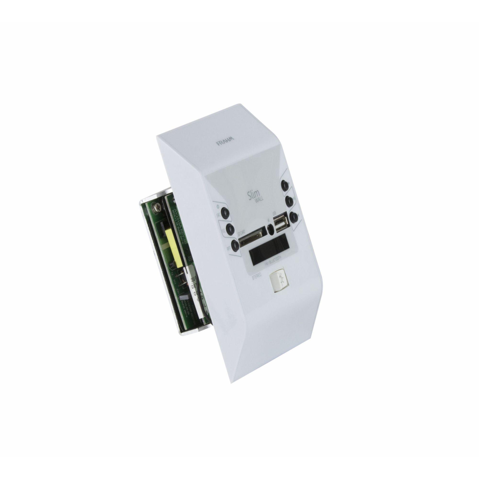 KIT Slim Wall Frahm – Amplificador Slim Wall + 2 Arandelas Retangulares – 160 W RMS