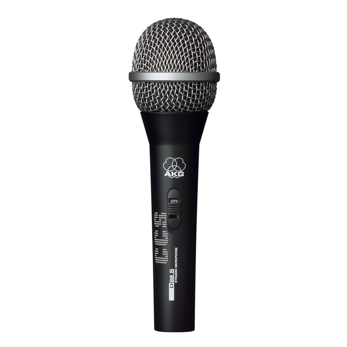 Microfone AKG D 88 S Dinâmico Super Cardioide