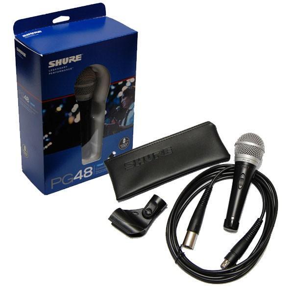 Microfone Shure PG48-XLR Dinâmico