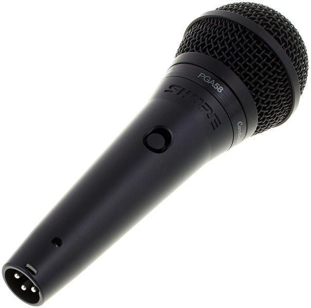 Microfone Shure PGA58-LC Dinâmico