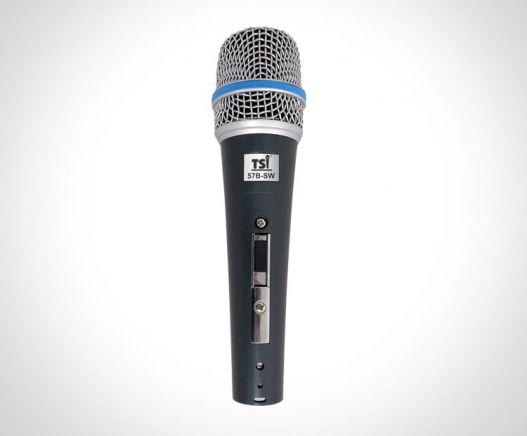 Microfone TSI 57b-SW Dinâmico