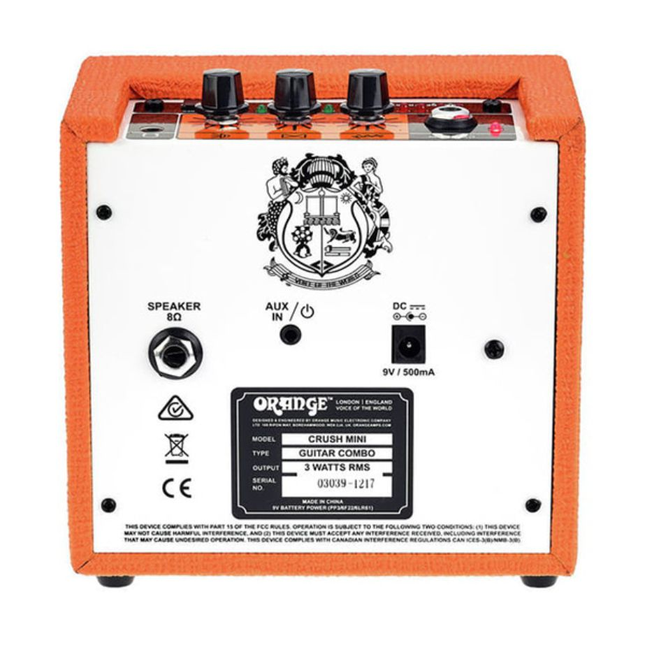 Mini Amplificador  Orange Crush Mini