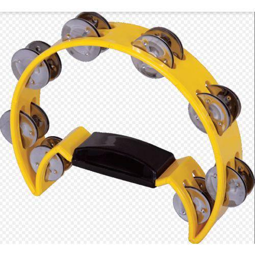 Pandeiro Meia Lua Pandeiro Jaguar - Amarelo