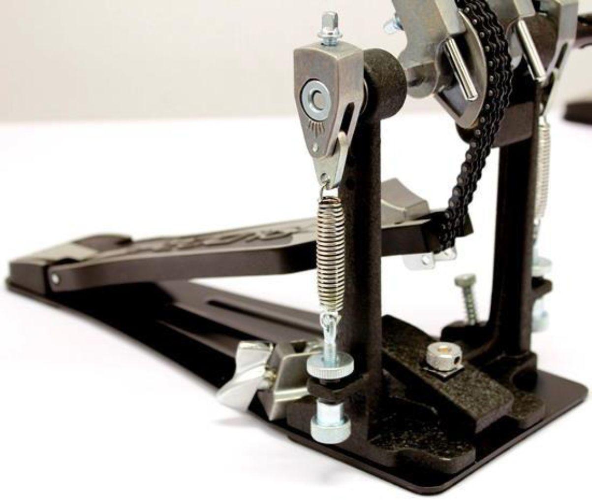 Pedal Duplo Odery Fluence Pd-802fl Dual Chain Drive Com Corrente Dupla