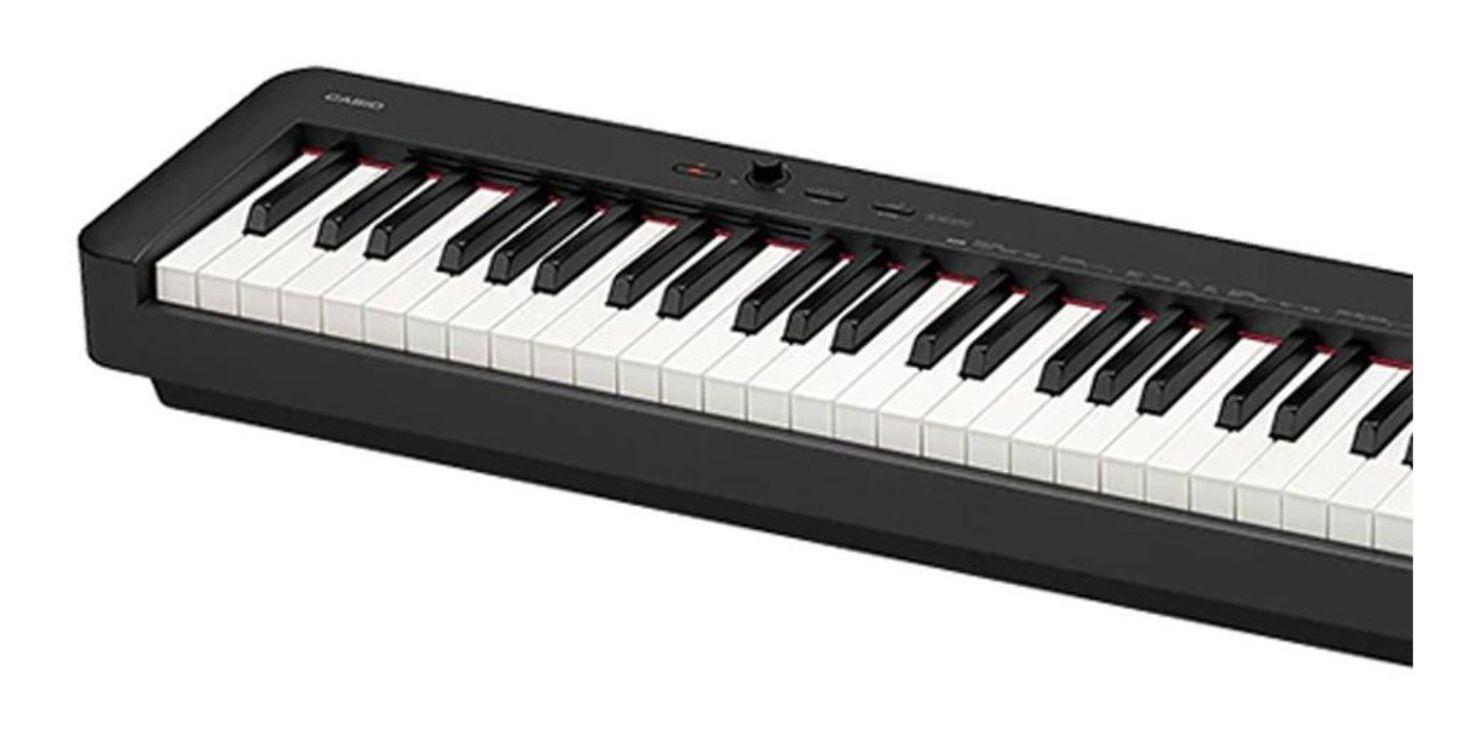 Piano Casio CDP-S 150 BK Acompanha Fonte, Pedal e Estante