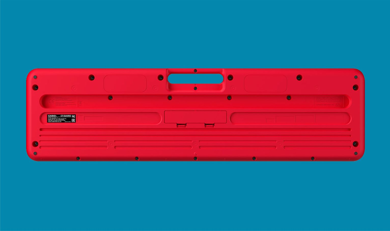 Teclado Casio CT-S200 Vermelho Lançamento 2020