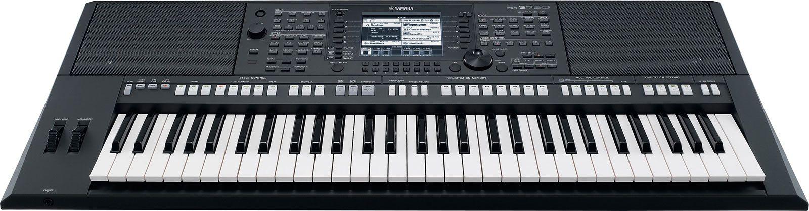 Teclado Yamaha PSR-S750 Arranjador