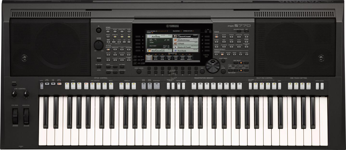 Teclado Yamaha PSR-S770 Arranjador