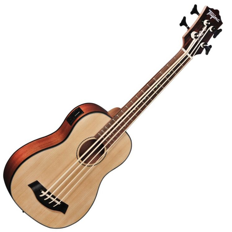 Ukulele Bass Tagima Ubass NY-30-KB Natural Fosco Elétrico