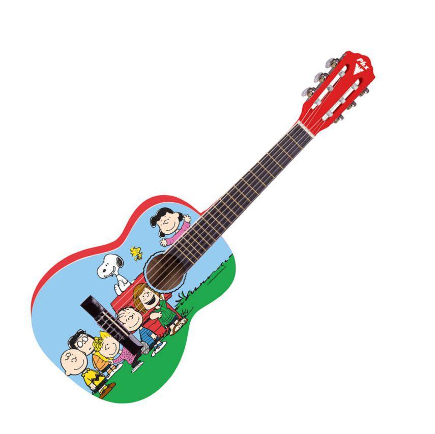 Violão Infantil PHX VIS-A1 Snoppy e Seus Amigos
