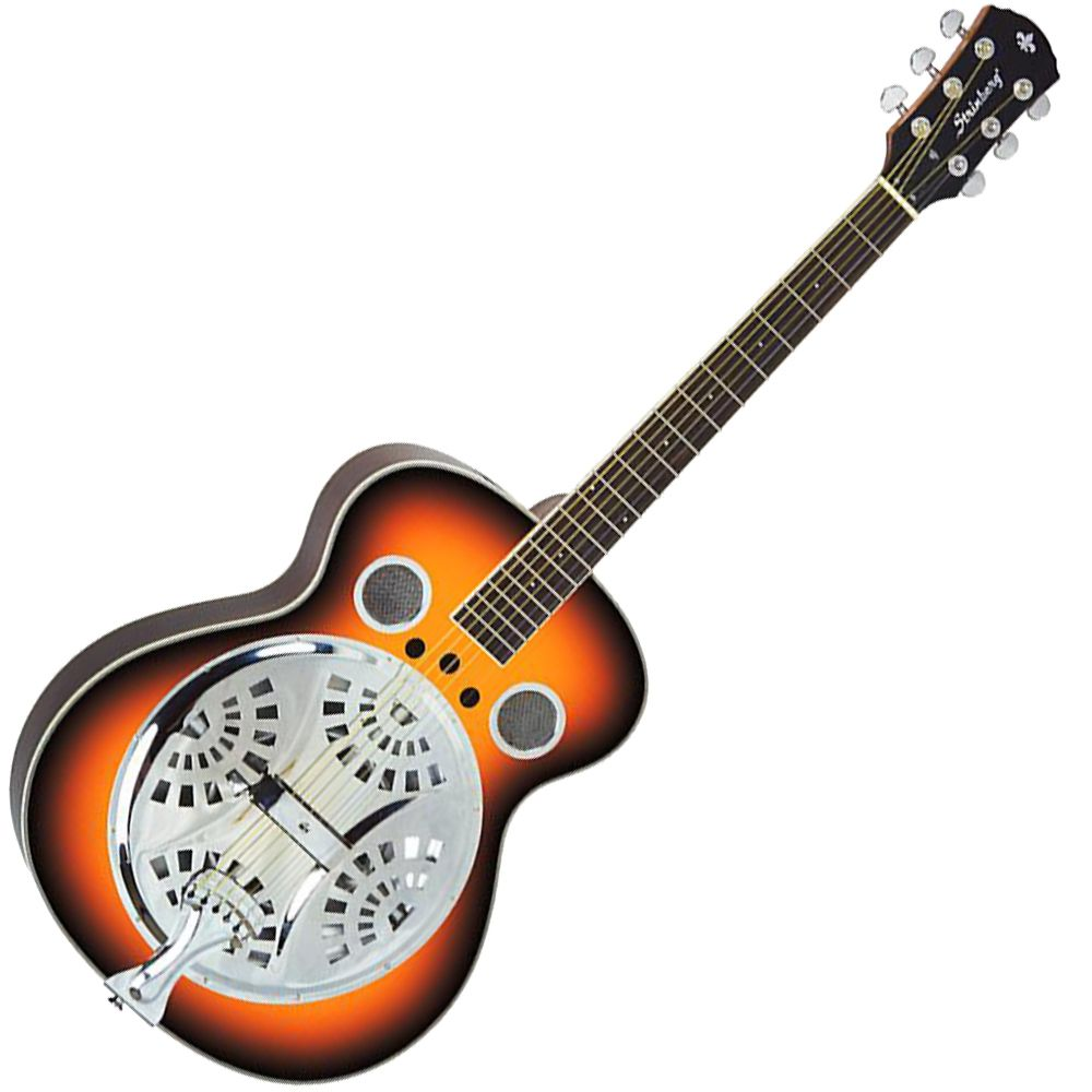 Violão Strinberg SDB 30 Dobro Resonator Sunburst