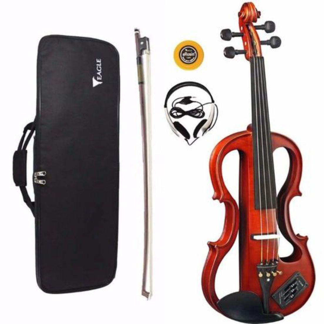 Violino Eagle EVK-774 4/4 eletrico