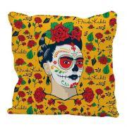 Capa de Almofada Frida Kahlo Amarelo