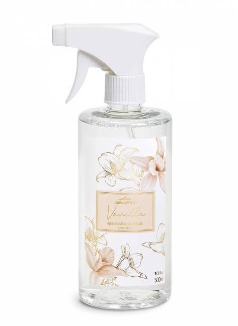 Água Aromática 500ml- Vanilla  |Linha Casa Perfumada Formosinha