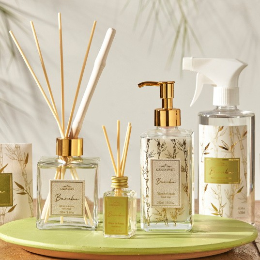 Água Aromática Para Tecidos Bambu| Linha Casa Perfumada Formosinha