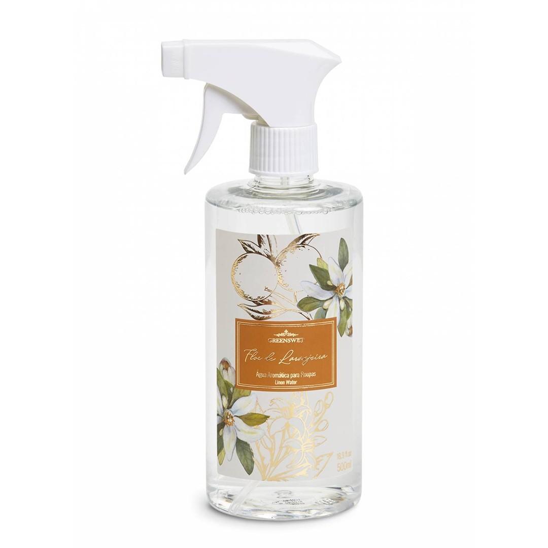 Água Aromática Para Tecidos Flor de Laranjeira | Linha Casa Perfumada Formosinha